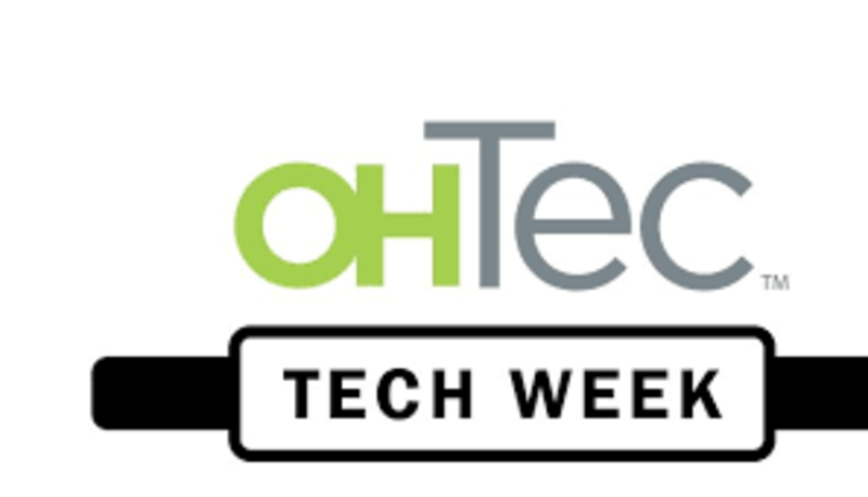 OHTec Award announcements